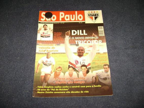 Revista Oficial Do São Paulo Nº 107 C/poster Julio Batista