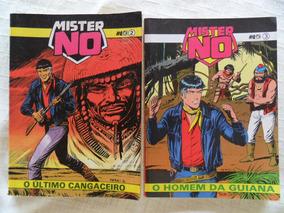 Mister No! Vários! Editora Record 1990! R$ 15,00 Cada!