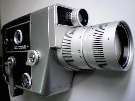 Filmadora 8 Mm A Corda Canon Cine Zoom 512