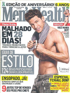 Revista Mens Health: Adam Senn / Marcio Garcia !!