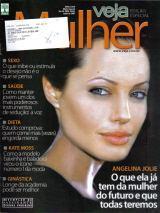 Pr Veja Edição Especial Mulher * Angelina Jolie * Moss