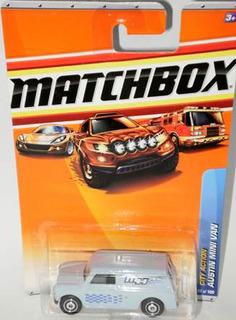 Matchbox Austin Mini Van - 72 De 2010 (lacrado)