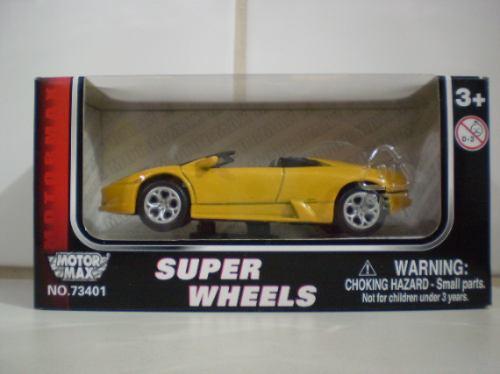 Motormax Super Wheels Lamborghini Murciélago Roadster