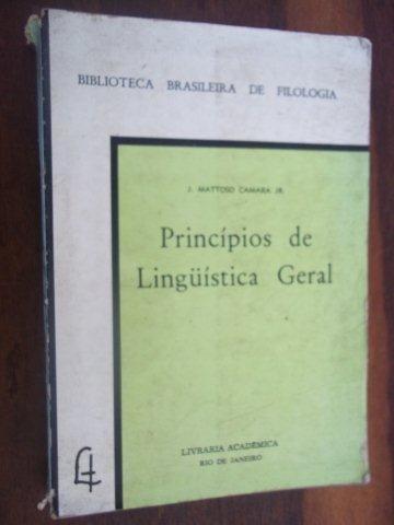Princípios De Linguística Geral - Universitário