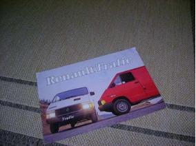 Renault Trafic Folder De Concessionaria Portuguesa