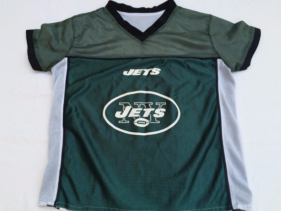Remera Nfl Usa,jets Reversible Verde /blanca Talle Xl Joven