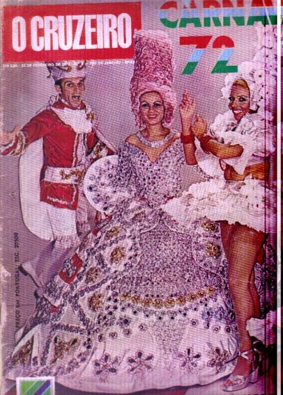 Revista O Cruzeiro Nº 8-23 De Fevereiro 1972-rio De Janeiro