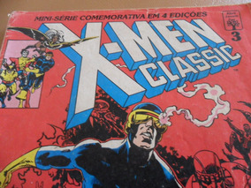 X-men Classic N° 03 (volume 1) Editora Abril