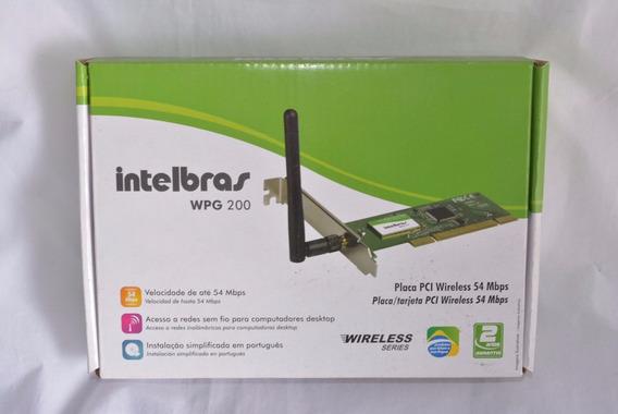 Placa De Rede Pci-e Wireless Wpn 200
