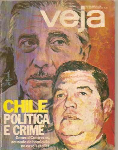 Veja - Chile Política E Crime/ José Carlos De Oliveira