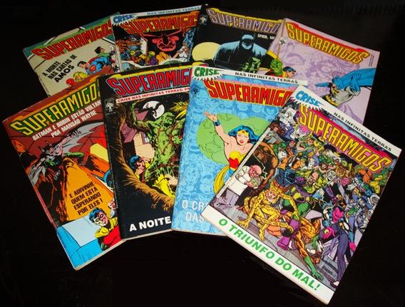 Superamigos - Revistas Da Década De 80 - P/ Colecionadores!