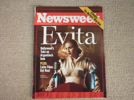 Madonna - Newsweek - December, 16 ,1996