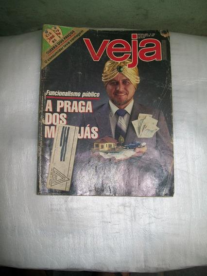 Revista Veja Nº 988 - 12/08/1987 - A Praga Dos Marajás
