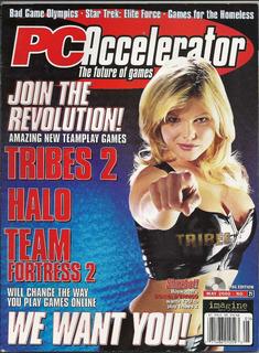 Revista Pc Accelerator 2000: Donna D