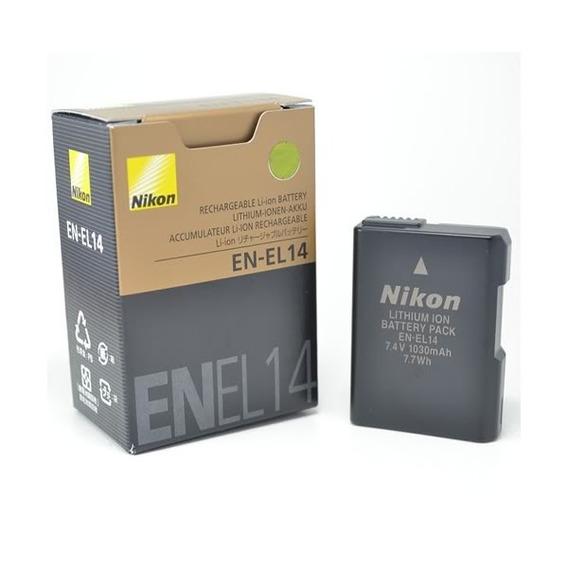 Bateria Nikon En-el14 Original D3100 D3200 D5100 P7100