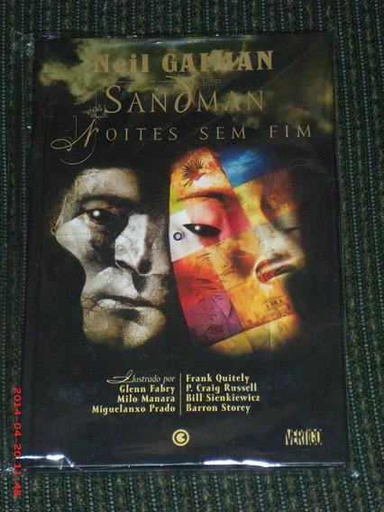 Sandman - Noites Sem Fim - Edição De Luxo Em Capa Dura