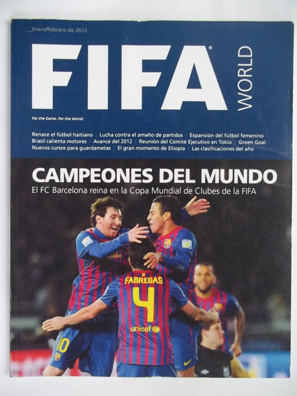Revista Fifa Janeiro/fevereiro De 2012 - Barcelona Campeão