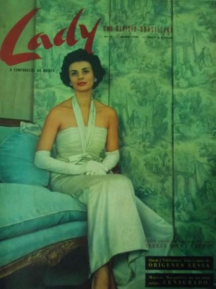 Revista Lady A Companheira Da Mulher Nº 9 - Junho 1957