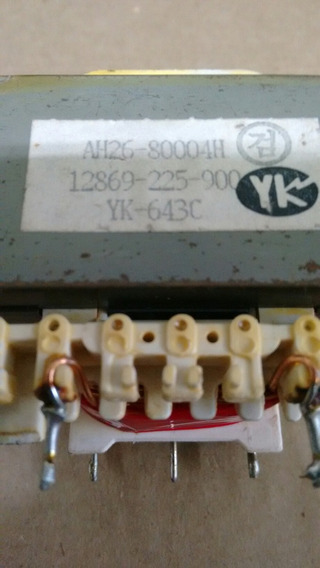 Transformador De Força Ah26-80004h 12869-225-900 Yk-643c
