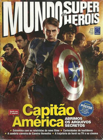 Mundo Dos Super-herois 28 - Europa - Bonellihq Cx99 H19