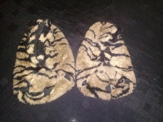 Pantuflas Pesuñas Garras Mujer, Talle 35