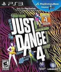 Jogo Just Dance 4 Original Lacrado Para Ps3 Requer Move