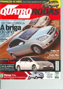 Revista 4 Rodas N. 546 Dezembro - 2005 -ótimo Estado! Vectra