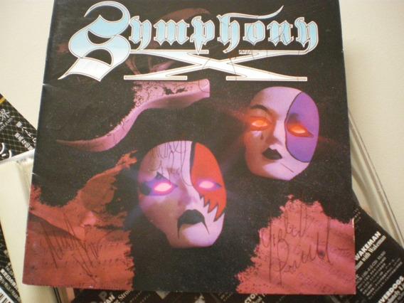 Symphony X - St - Cd Japonês Autografado Em 2001