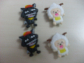 Kit Pins Importados P/ Crocs 4 Unidades( 2 Pares) - Lote 204