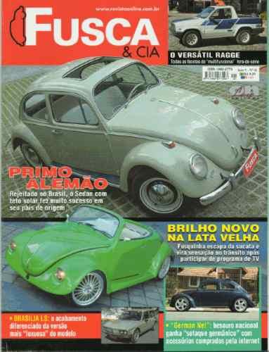 Fusca & Cia Nº41 Ragge Brasília Ls Cornowagen 1965 Alemão