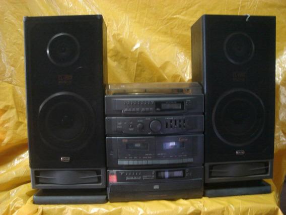 Conjto De Som Cce - Ss-9.800 - T.disco+5 Cd S+radio+deck+cxs