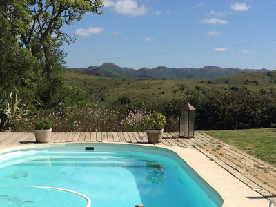 Chacra Casa Alquiler Conpiscina En La Sierra Min. 10 Dias