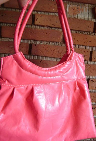 Cartera Super Practica Con Bolsillo Interior Color Rosa