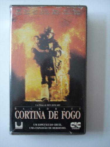 Cortina De Fogo Vhs *