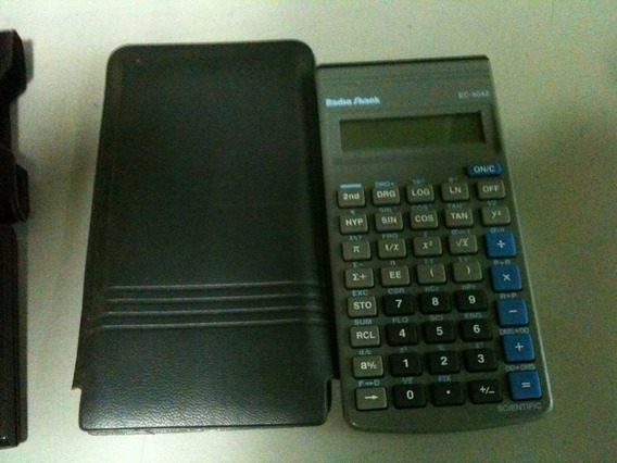 Calculadora Científica Radioshack Ec-4042
