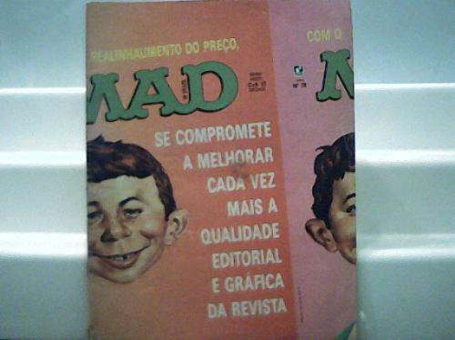 Revista Mad In Brazil Nº 28 - Editora Record Março 1987