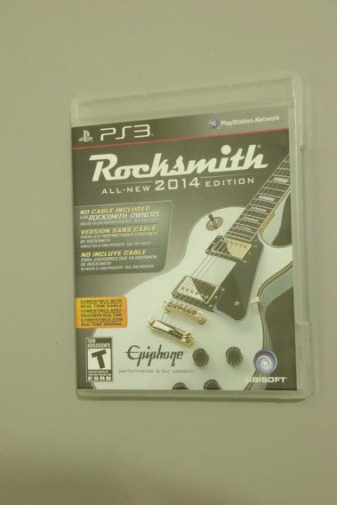Rocksmith 2014 - Ps3 - Sem Cabo
