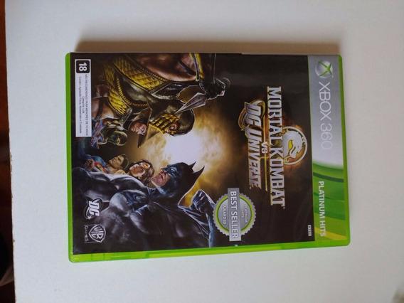Mortal Kombat Vs Dc Universe Xbox 360