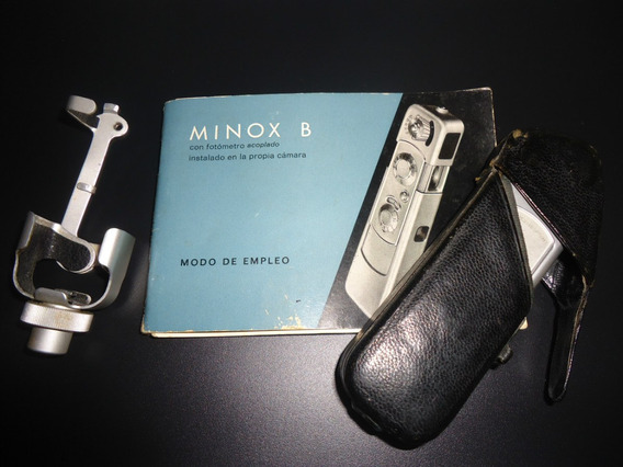 Camera Minox (usada Na Guerra Fria)