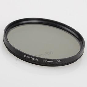 Filtro Polarizador Circular Cpl 67mm Canon Nikon Sony Etc