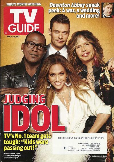 Tv Guide: Jennifer Lopez / Steve Tyler / Dan Stevens