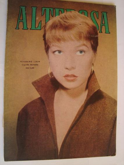 Revista Alterosa Nº 300 Fevereiro 1959 Minas Gerais