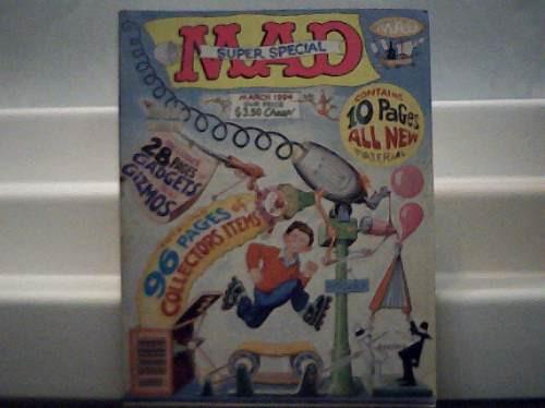 Revista Mad Super Special Importada Nº 92 March 1994 96 Pg