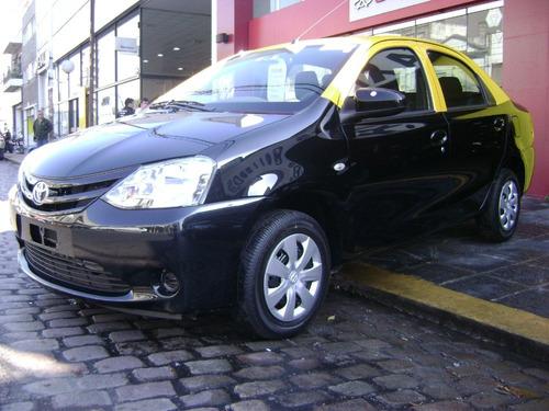 Taxi Etios 2015 C/s Licencia --anticipo Y Cuotas--