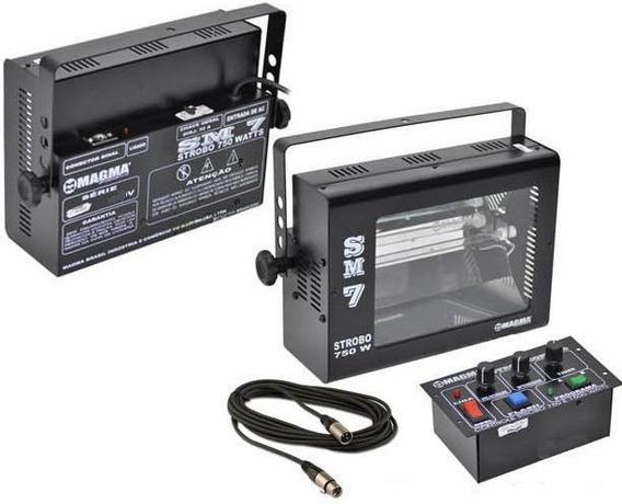 Strobo Magma Dj Com 750 Watts 110 Volts, Efeito Camera Lenta