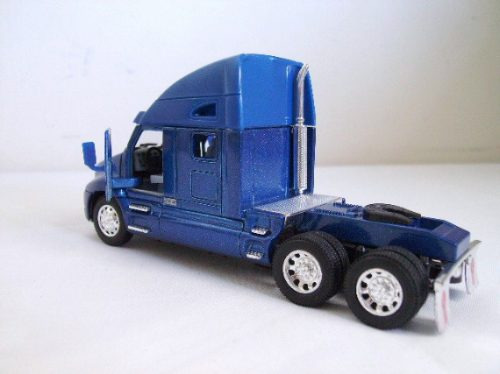 Miniatura Caminhão Kenworth T2000 Azul Escala 1:66 Truck
