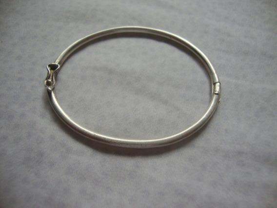 Pulseira Bracelete Prata Lei Infantil Pequena