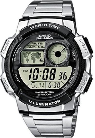 Relógio Casio Ae-1000 Wd Ae-1200 Whd Com Caixa