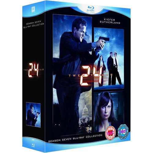 Blu-ray 24 Horas 7ª Temporada, Box C/ 6 Discos, Lacrado Orig