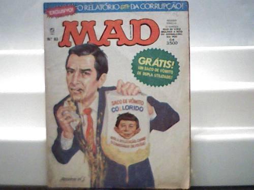 Revista Mad Nº 83 / Editora Record Abril 1992
